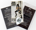 2010 Indianapolis KISS Expo Passes and Guitar Pick Set