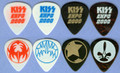 KISS Expo Holland Germany Guitar Pick Set
