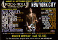 Paul Stanley Rock and Roll Fantasy Camp Postcard