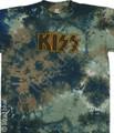 KISS Tye Dye Logo Tshirt
