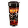 KISS 16 oz. Plastic Travel Mug