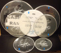 2011 Hottest Show On Earth Tour Rama Show Used Drumheads