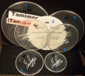 2011 Hottest Show On Earth Tour Bushkill Tamiment Show Used Drumheads