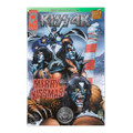 KISS 4K Comic Book Merry KISSmas Scotts Vault Silver Foil Issue