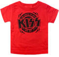 KISS The Best Toddler Tshirt