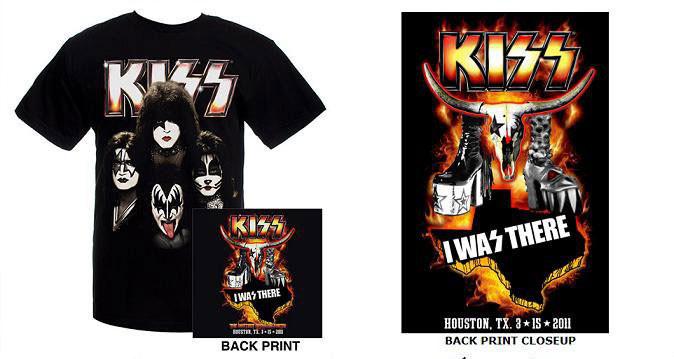 Kiss Houston Rodeo Event Tshirt