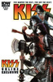 KISS Dressed To Kill Part 1 Comic Book Exclusive Cover