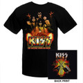 KISS 2011 Hottest Show Volcano Tour Youth Tshirt
