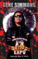 Gene Simmons Kickoff Event Blood Poster