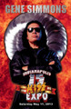 Gene Simmons Kickoff Event Fire Poster