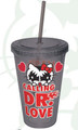 Hello Kitty Calling Dr. Love Tumbler Cup with Straw