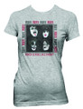 Heather Grey Rock & Roll All Night Juniors Tshirt