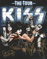 KISS the Tour Signed Photo