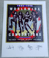 KISS 95-96 Convention Plate Signed Lithograph