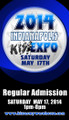 2014 Indianapolis KISS Expo Regular Admission Ticket