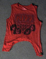 Trunk Maroon KISS Army World Tour Juniors Cut Tank Shirt
