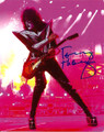 Tommy Thayer Signed Pink Light Photo #4
