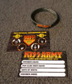 2013 KISS Army Card with Rubber Band Set