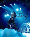 Tommy Thayer Signed Blue Spotlight Photo #8