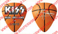 033012 Gene Simmons KISS New Orleans Basketball Guitar Pick