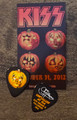 103112 KISS Kruise II Pumpkin Gene Simmons Guitar Pick