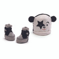 KISS Gund Starchild Baby Cap & Booties set