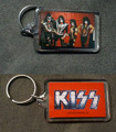 2013 KISS Red Lucite Keychain
