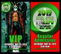 2015 Indianapolis KISS Expo VIP Regular Admin Ticket Set