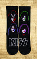KISS Solo Faces Socks