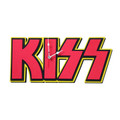 KISS Foam Clock Red