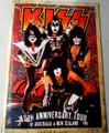 KISS New Zealand Australia 40th Anniversary Tourbook 2015 Program