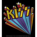 KISS Logo Burst Sticker