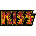 KISS Flame Logo Sticker