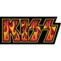 KISS Flame Logo Sticker