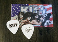KISS The Tour Eric Singer Black Logo Guitar Pick