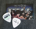 KISS Monster Common Green Australia Guitar Pick Paul Stanley
