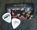 KISS Monster Common Green Australia Guitar Pick Gene Simmons