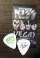 KISS Rocks Las Vegas Common Eric Singer Guitar Pick