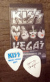 KISS Rocks Las Vegas Common Tommy Thayer Guitar Pick