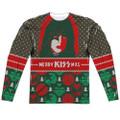 KISS Paul Stanley Merry KISSmas Longsleeve Shirt