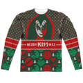 KISS Gene Simmons Merry KISSmas Longsleeve Shirt