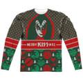 KISS Gene Simmons Merry KISSmas Longsleeve Shirt