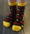Yellow Black Red Logo Socks Infant/Toddler