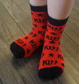 Black Red Logo Socks Infant/Toddler