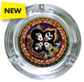 KISS Rock and Roll Over Glass Ashtray