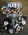 KISS 2013 Sweden Commemorative Pick Set