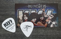 KISS Monster Common Black Australia Gene Simmons Guitar Pick