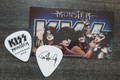 KISS Monster Common Black Australia Paul Stanley Guitar Pick