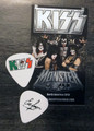 KISS Mexico Hell and Heaven Metal Fest 2014 Eric Singer Guitar Pick