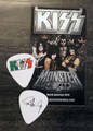 KISS Mexico Hell and Heaven Metal Fest 2014 Paul Stanley Guitar Pick